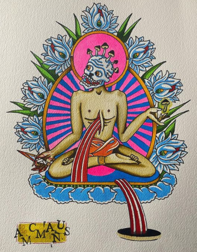 AIDAN MCMANUS Tibetan Painting Tattoo